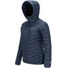 Peak Performance W's Frost Down Hood Jacket Blue Shadow